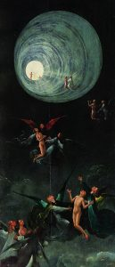 Hieronymus Bosch painting Ascent of the Blessed
