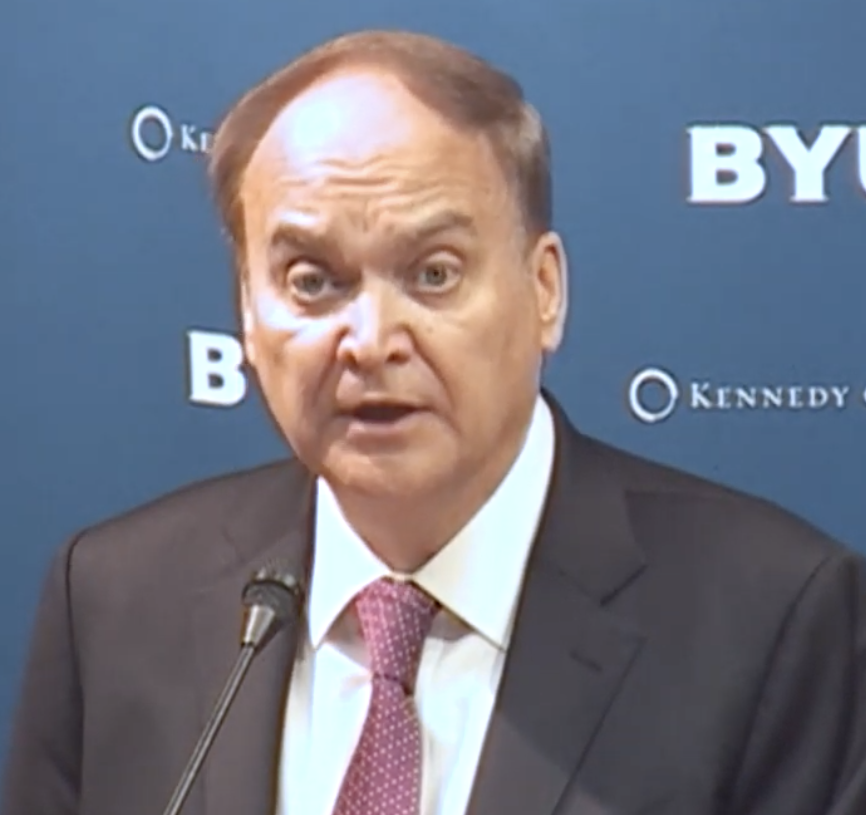 From Russia with Doves: The Russian Ambassador Emphasizes Peace and Diplomacy at BYU
