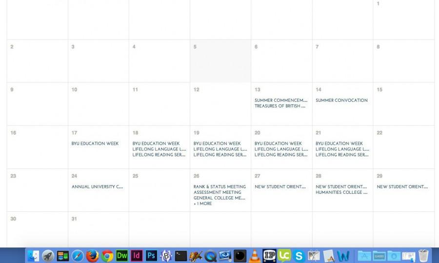 Submit a Calendar Event