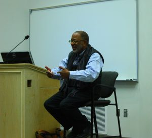 C. Michael Gray, professor at Ohio State University, shared his experiences during the civil rights movement.