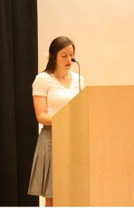 """I Am Wanting,"" the graduate winning essay, is read by author Shamae Budd"